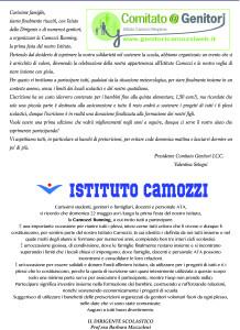 comunicazione dirigente Camozzi Running